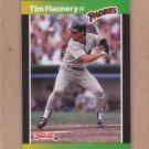 1989 Donruss Baseball Tim Flannery Padres #364