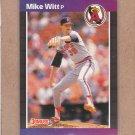 1989 Donruss Baseball Mike Witt Angels #372