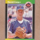 1989 Donruss Baseball Dave Cone Mets #388