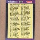 1989 Donruss Baseball Checklist #400