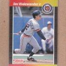 1989 Donruss Baseball Jim Walewander Tigers #415