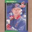 1989 Donruss Baseball Ron Kittle Indians #428
