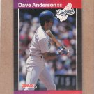 1989 Donruss Baseball Dave Anderson Dodgers #434