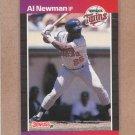 1989 Donruss Baseball Al Newman Twins #436