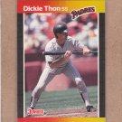1989 Donruss Baseball Dickie Thon Padres #441