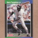 1989 Donruss Baseball Garry Templeton Padres #483