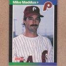 1989 Donruss Baseball Mike Maddux Phillies #487