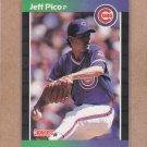 1989 Donruss Baseball Jeff Pico Cubs #513