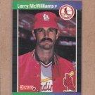 1989 Donruss Baseball Larry McWilliams Cardinals #518