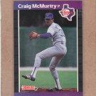 1989 Donruss Baseball Craig McMurtry Rangers #520