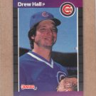 1989 Donruss Baseball Drew Hall Cubs #522