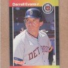 1989 Donruss Baseball Darrell Evans Tigers #533