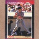 1989 Donruss Baseball Steve Lombardozzi Twins #554