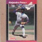1989 Donruss Baseball Alejandro Pena Dodgers #557
