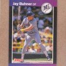 1989 Donruss Baseball Jay Buhner Mariners #581