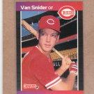 1989 Donruss Baseball Van Snider Reds #586