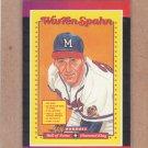 1989 Donruss Baseball Warren Span #588