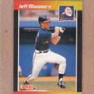 1989 Donruss Baseball Jeff Blauser Braves #592