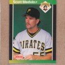 1989 Donruss Baseball Scott Medvin Pirates #597