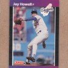 1989 Donruss Baseball Jay Howell Dodgers #610