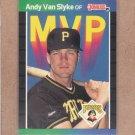 1989 Donruss Baseball MVP Andy Van Slyke #BC-10