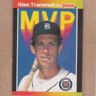 1989 Donruss Baseball MVP Alan Trammell #BC-17