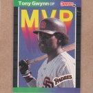 1989 Donruss Baseball MVP Tony Gwynn #BC-20