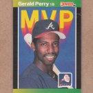 1989 Donruss Baseball MVP Gerald Perry #BC-24