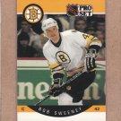 1990 Pro Set Hockey Bob Sweeney Bruins #15