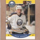 1990 Pro Set Hockey Doug Bodger Sabres #19