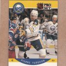 1990 Pro Set Hockey Pierre Turgeon Sabres #31
