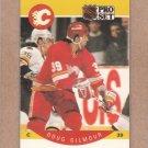 1990 Pro Set Hockey Doug Gilmour Flames #34