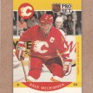1990 Pro Set Hockey Brad McCrimmon Flames #39