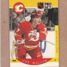 1990 Pro Set Hockey Joe Mullen Flames #40