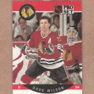1990 Pro Set Hockey Doug Wilson Blackhawks #63