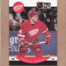 1990 Pro Set Hockey Daniel Shank RC Red Wings #78
