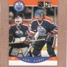 1990 Pro Set Hockey Jari Kurri Oilers #87