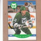 1990 Pro Set Hockey Kevin Dineen Whalers #102