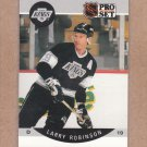 1990 Pro Set Hockey Larry Robinson Kings #125