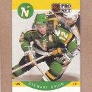 1990 Pro Set Hockey Stewart Gavin North Stars #139