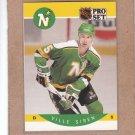 1990 Pro Set Hockey Ville Siren North Stars #144