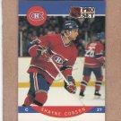 1990 Pro Set Hockey Shayne Corson Canadiens #148