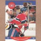 1990 Pro Set Hockey Mathieu Schneider Canadiens #158