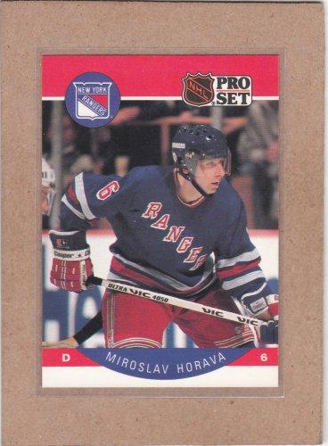 1990 Pro Set Hockey Miroslav Horava Rangers #198