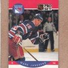 1990 Pro Set Hockey Mark Janssens Rangers #199