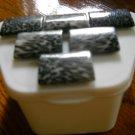 Animal Print Denture case gift white zebra case
