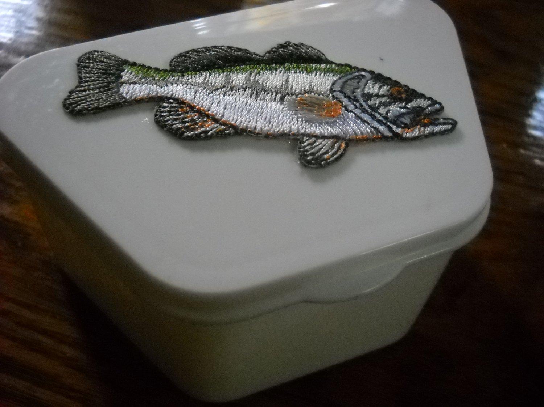 Full Denture case Fishing Sport decorative dental storage box