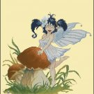 Pascal Moguerou Art Cross Stitch Chart Fairy