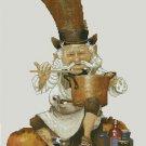 Monge Jean-Baptiste Cross Stitch Chart Old Pharmacist