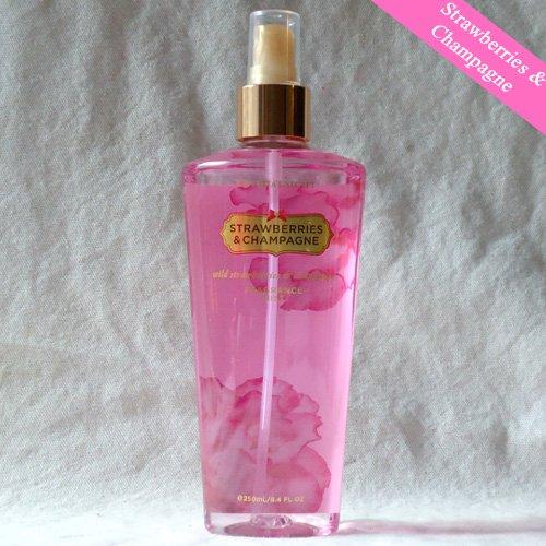 Victoria's Secret Strawberries and Champagne Body Mist / Spray